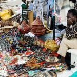 Bunte einheimische Märkte