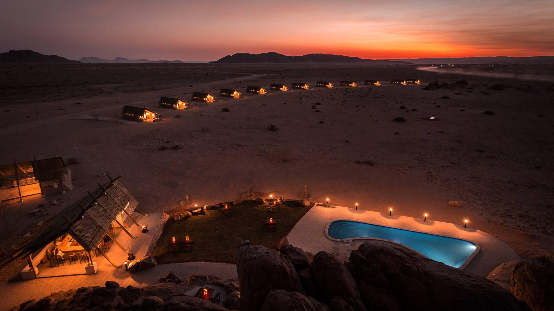 Das Desert Quiver Camp
