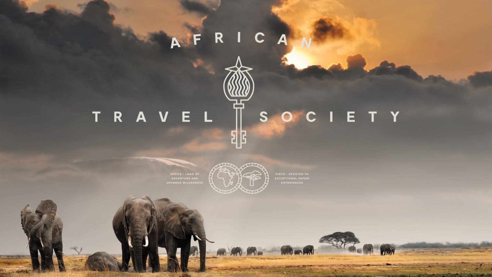 Elephanten im Serengeti Tansania - Travel Africa Society