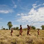 Bushmen walk jacks camp botswana