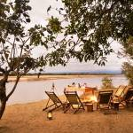 Island bush camp kafunta South Luangwa National Park zambia