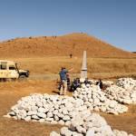 Denkmal für ehemalige Schlachtfelder