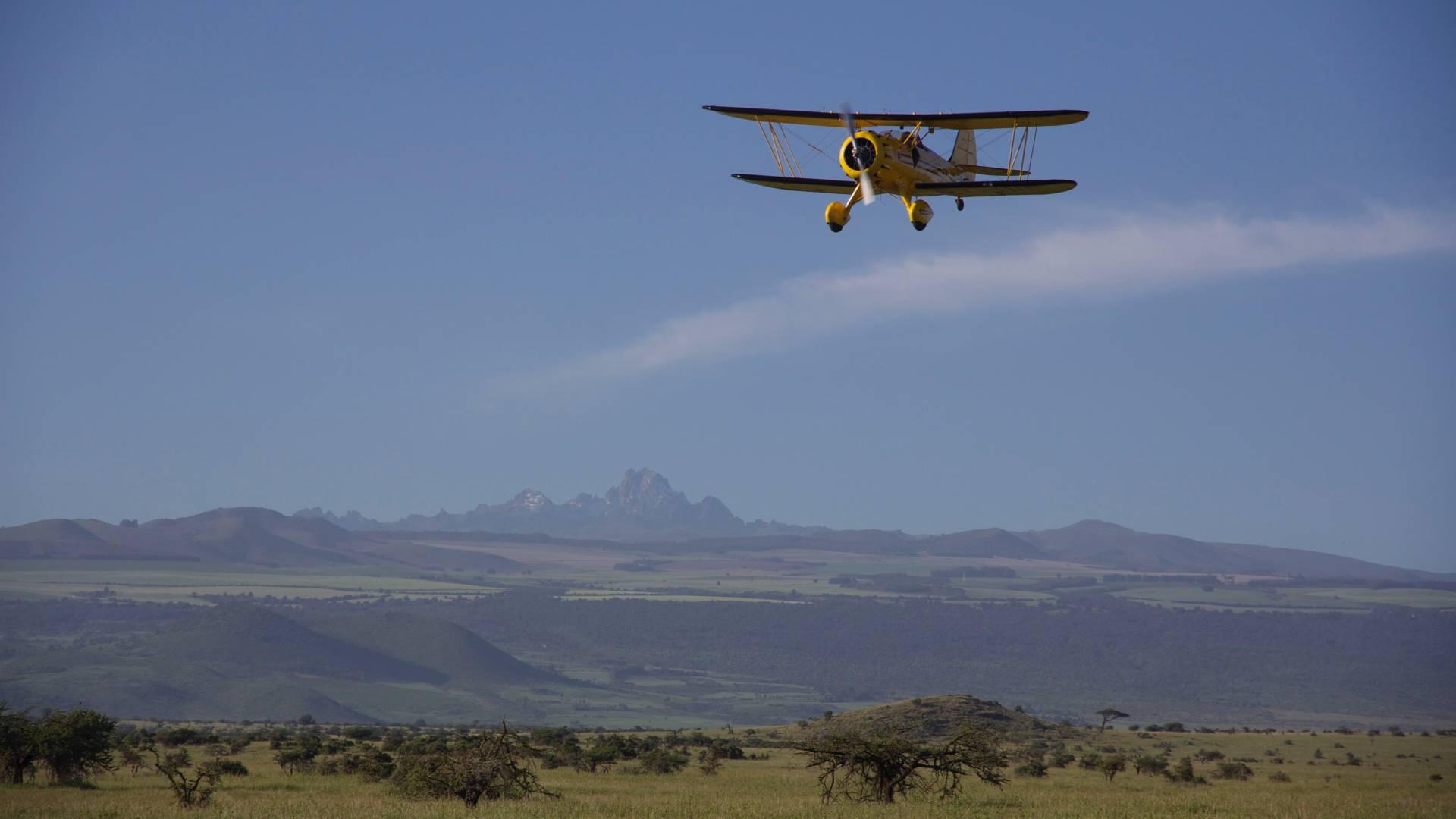Abenteuerliche Rundflüge