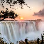 Livingstone the victoria falls in zambia