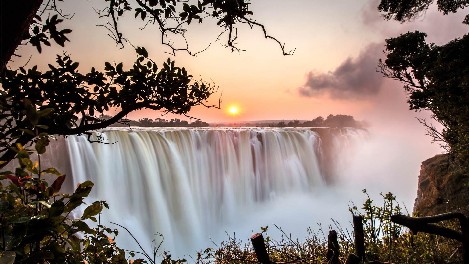 Livingstone - Victoriafälle Safari Sambia