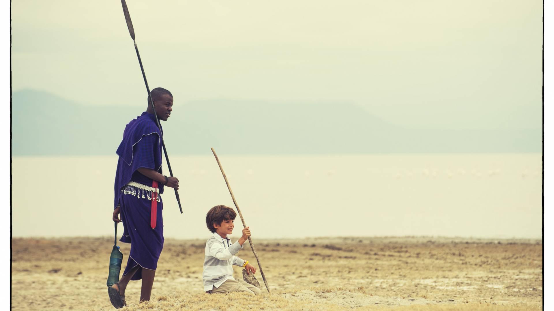 Spannende Walking-Safaris