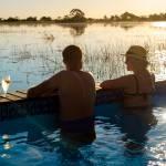 schwimmbad pelo camp botswana