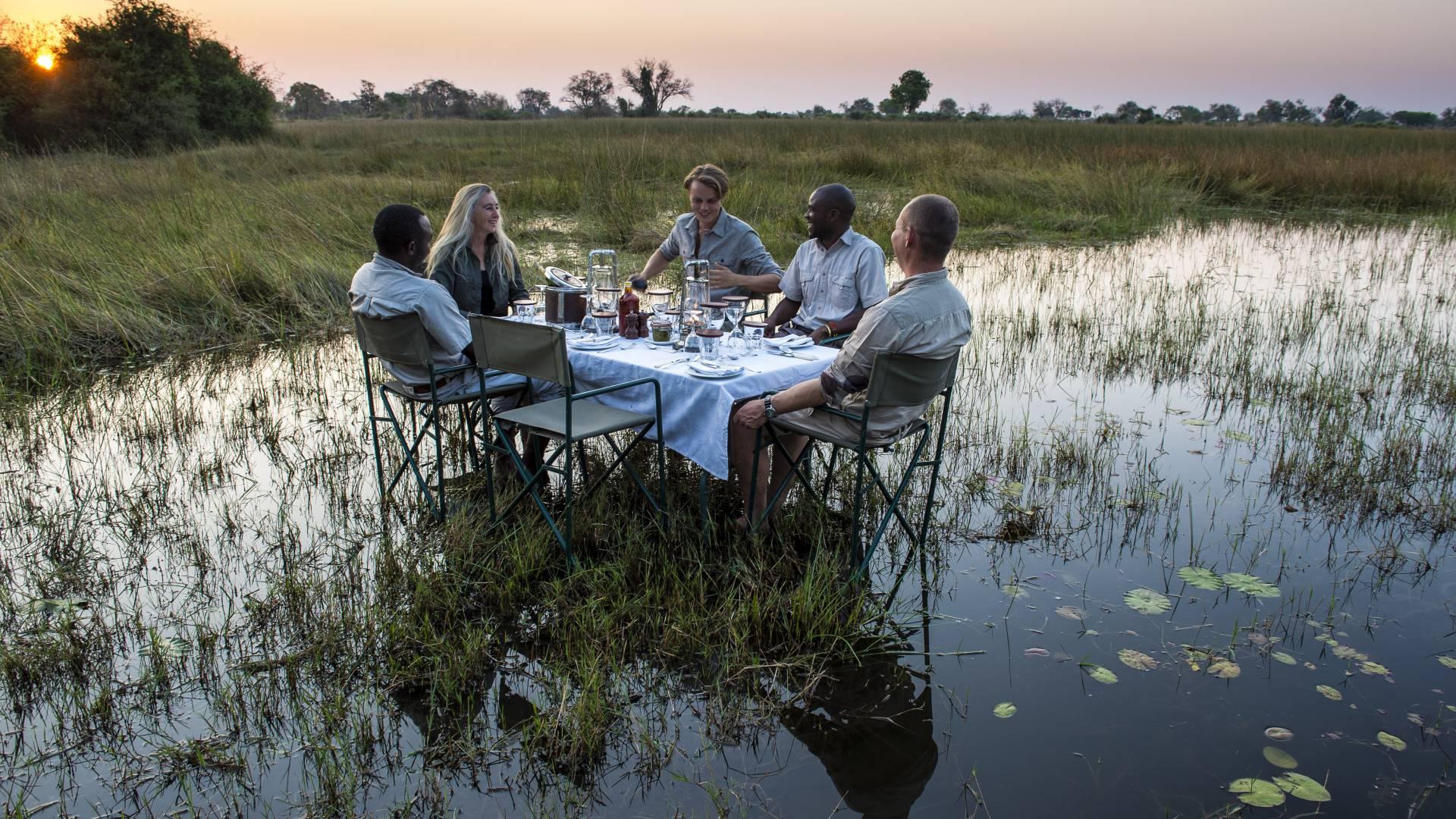 Gemutlich und personliche safaris