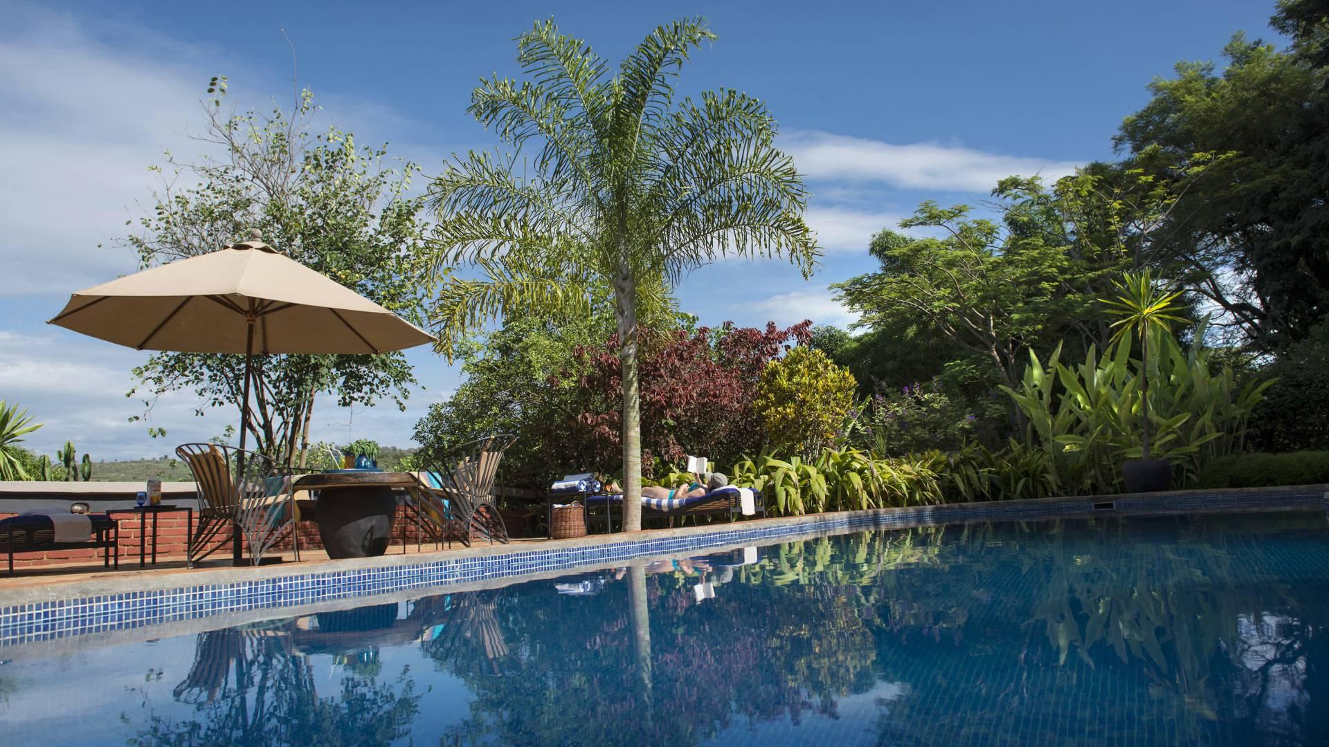 Swimmingpool im Außenbereich