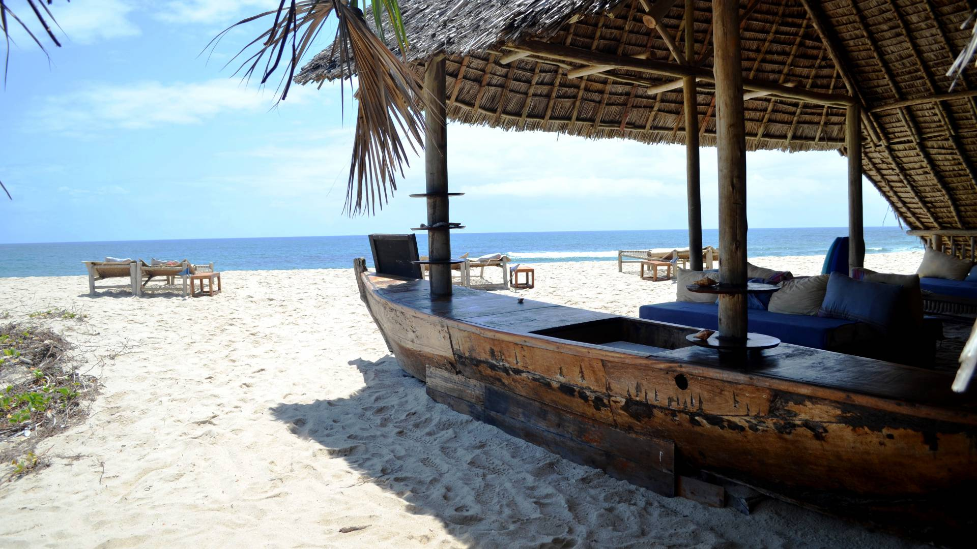 strand erholung am tansanias festland