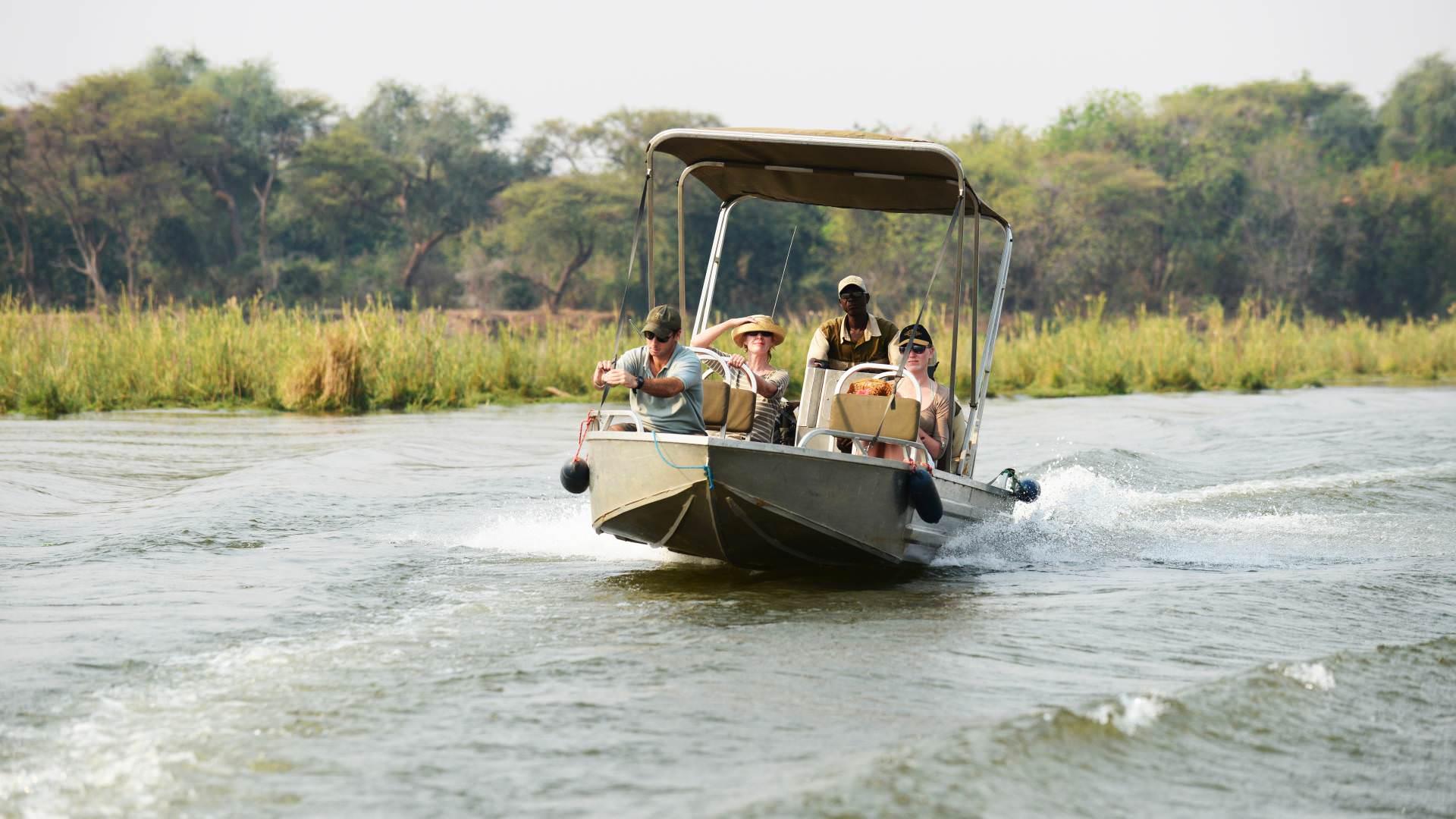 Boot Safaris - Infos von Afrika Safari Experten   Pinto Africa