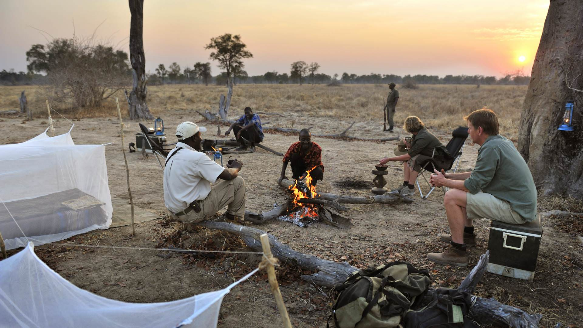 Shenton Kaingo Camp south Luangwa Sambia Mit Spezialisten entdecken
