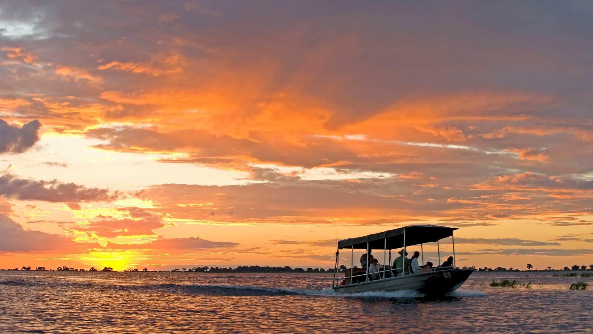 River cruise Zambezi viktoriafälle Sussi & Chuma Lodge Livingstone Sambia mit Experten Pinto Africa