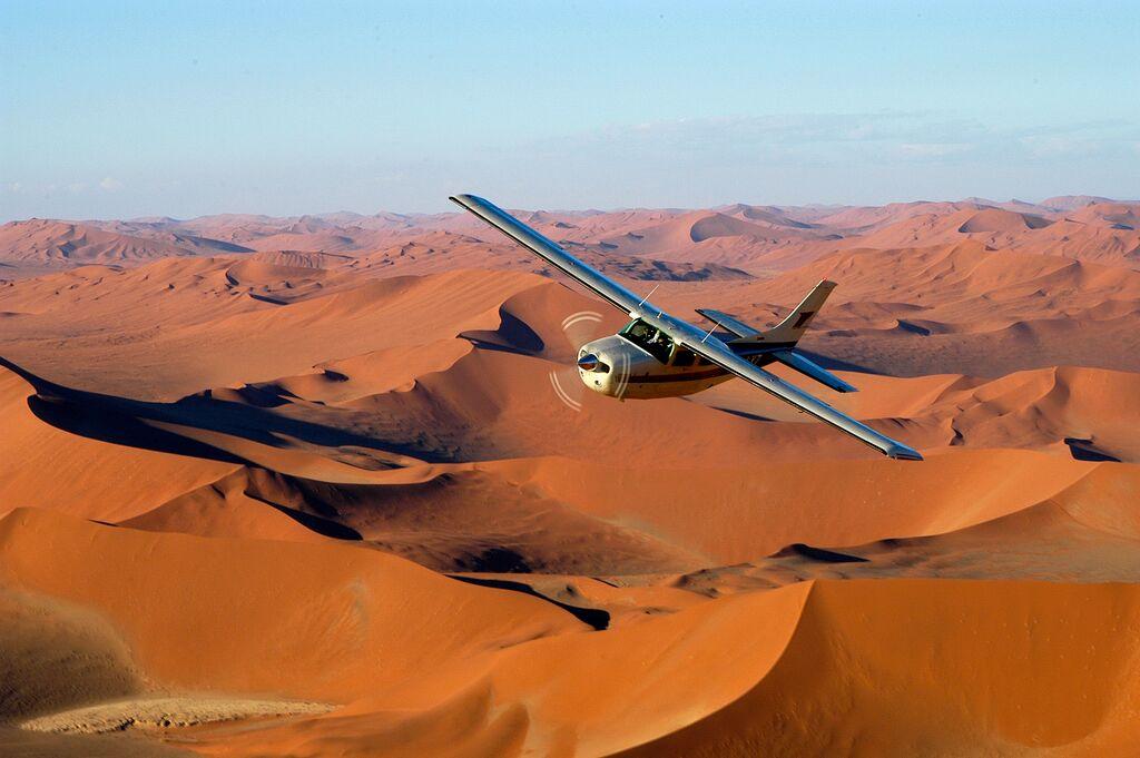 Fluge über namibia