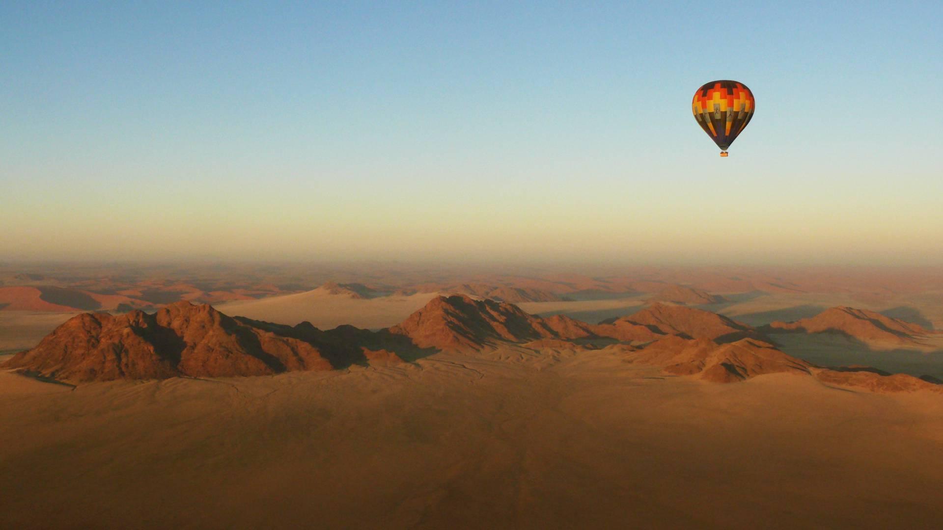 Heißluftballonsafari